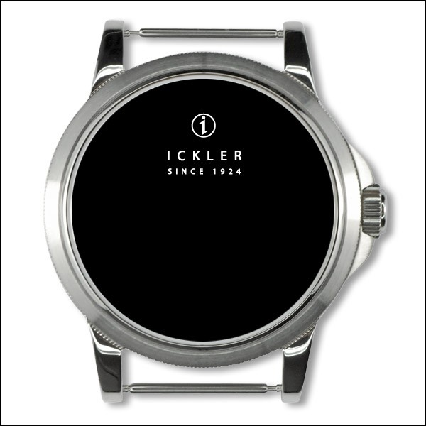 40mm / coined edge bezel / polished + brushed