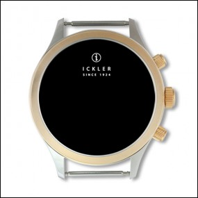 Case - Steel gold / polished + brushed / 37,5mm / Eta 7751