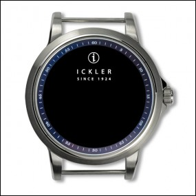 Case - Steel / polished and brushed / blue inside bezel / 60min scale / 39mm