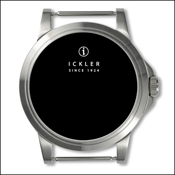 Case - Steel / coined edge bezel / brushed / 40mm / Eta 2824