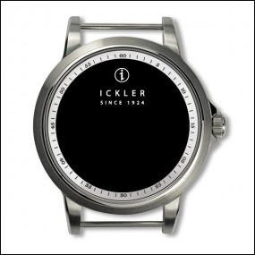Case - Steel / polished and brushed / white inside bezel / 60min scale/ 39mm